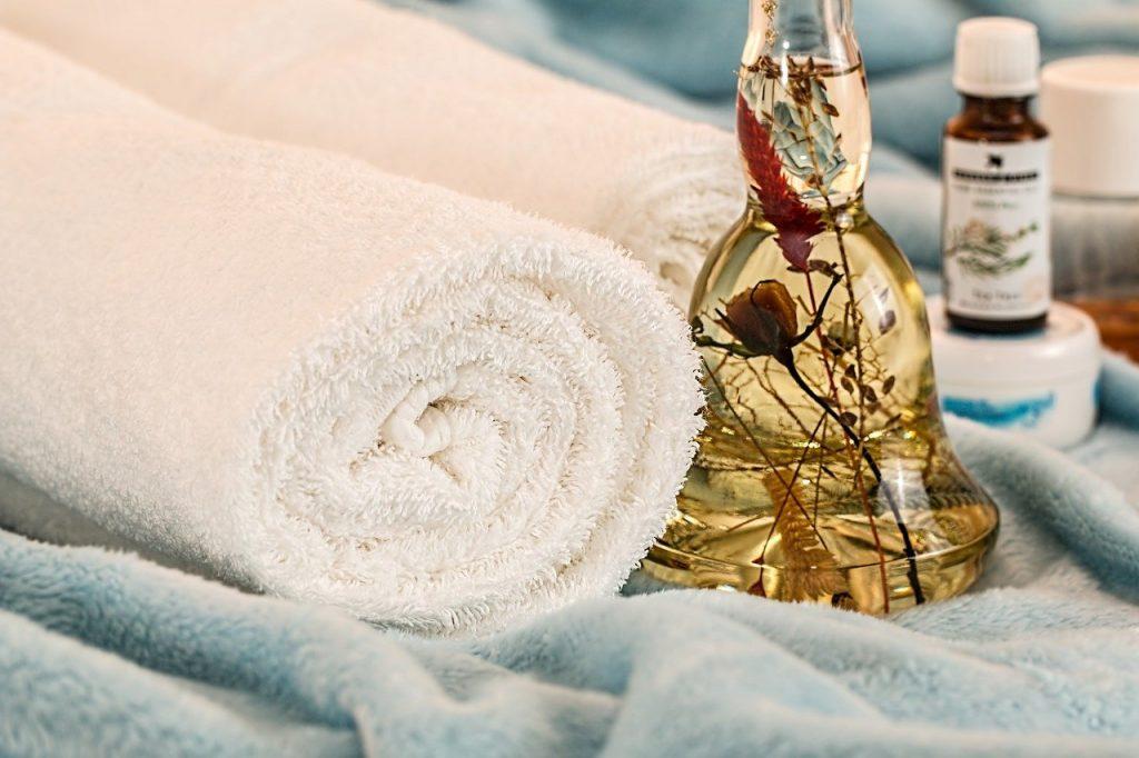 massage therapy, essential oils, skincare